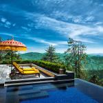The Outdoor Jacuzzi at The Wildflower Hall, Shimla in the Himalayas