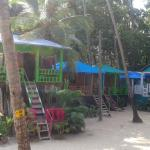 Huts adjoining to our hut
