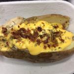 Hot Mess-loaded baked potato