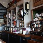 le bar de la salle du bas