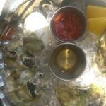 1/2 dozen oysters - were delicious!