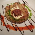Onion and Goat Cheese Tart Appetizer