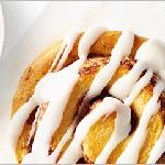 Try our warm signature cinnamon rolls