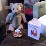 Very distingushed & Elderly Teddy Edward enjoying his visit!