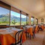 Restaurant and breakfast terrace