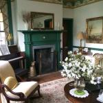 Parlor available to guests