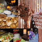 Special celebrations for private parties, events and fundraisers.