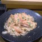Katsune, one of the myriad dishes being served