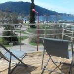 Terrasse sur le lac