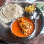 my fish thali :-(