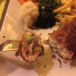 Cordon-bleu with Asparagus
