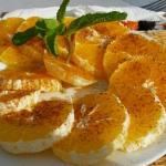 postre naranjas con canela