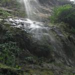 Maracas falls from under the falls.