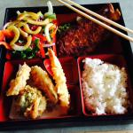 Bento box looks good, tastes bland