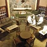 Comfort Inn Flagstaff: Breakfast Area from above
