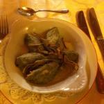 Rabatun carciofi ed erbe aromatiche.