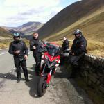 A spin on the bikes Gaz and the lads