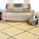 A sumptuous Moroccan rug finds a new home.