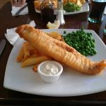 Haddock and chips at over £10