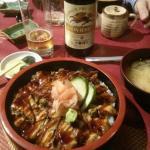 Chirashi à l'anguille... :-))