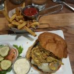 Dad's Green Chili Burger