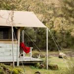 Try luxury camping at our rustic-luxe Safari Camp