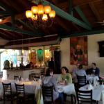 Attractive Al Fresco dining too