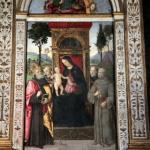 Basso Della Rovere Chapel - Pinturicchio fresco