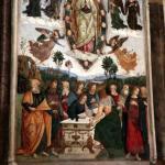 Basso Della Rovere Chapel at Santa Maria del Popolo