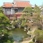 「斜陽館」の庭園