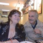 The owners: decadent dessert maker & authentic Greek chef (Elaine Benis & no soup for you!!!)