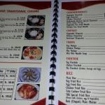 Kathmandu Kitchen menus