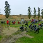 Plenty of room for the bikes