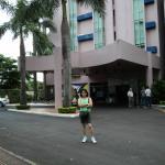 Entrada do Hotel, faixada