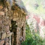 Ruins near the cave