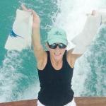 Happy angler catches teo sailfish
