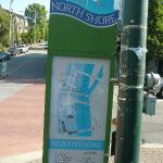 North shore Sign @ Coolidge Park