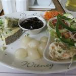 Stilton Ploughmans at the Royal Oak