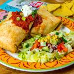Burritos bij Mexicaans Restaurant Tortillas