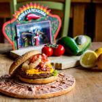 TexMexBurger bij Mexicaans restaurant Tortillas