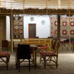 Khiva: Farrukh: inner courtyard