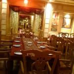 Inside the restaurant!