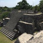 Caracol Maya pyramid