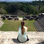 Views from the top of Caracol.