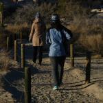 Caminhada pelo parque
