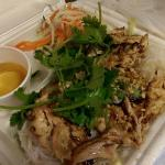 Vermicelli Salad with Grilled Chicken Fillet
