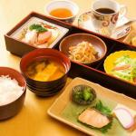 Breakfast buffet_image of the Japanese food