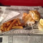 Le fish et chips