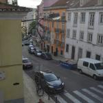 Вид из окна номера отеля Botanico, 2-ой этаж