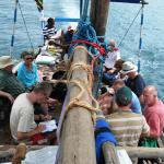Dive trip aboard our traditional dhows